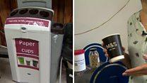 مشروع لإعادة تدوير أكواب القهوة وتحويلها إلى فحم حيوي