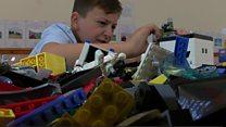 Autistic boy starts Lego club