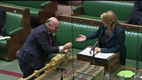 Labour MP crosses floor to clean up mess