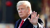 Trump calls for a 'civil tone'