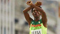 Ethiopian protest runner returns from exile