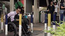 คนพิการกับการสัญจรไปมาในกรุงเทพฯ