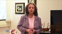 Ethiopian women welcome female president