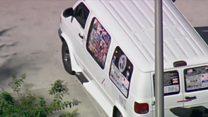 Van of mail bomb suspect