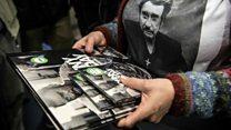 Dead singer's record-breaking album sales