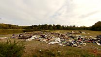 'Worst case' of fly-tipping in south