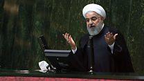 مجلس ایران به ترمیم کابینه روحانی رأی میدهد