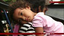سیل مهاجران حاضر به ماندن در مکزیک نیست