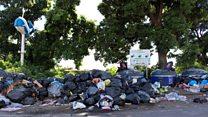 من المسؤول عن نظافة الشوارع؟