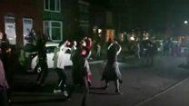 Sheffield street turned Thriller for birthday