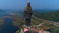 Самую высокую статую мира построили в Индии