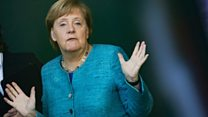 Angela Merkel's political challenges