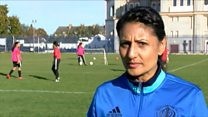 Women's football pioneer wins UEFA award