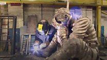 War poet inspires sculpture