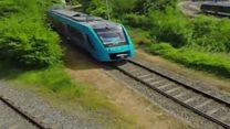 Os trens que geram água no lugar de gases poluentes e são apontados como futuro