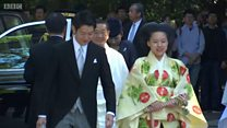Japan's Princess Ayako surrenders her royal title to marry the man she loves