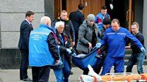 ТВ-новости: кто устроил взрыв в ФСБ в Архангельске