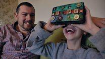 Папа создал виртуальный мир для больной дочки