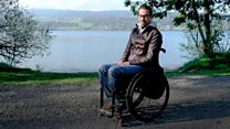 'I always dreamed of walking again'