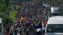 अवैध अप्रवासियों को ट्रंप की चेतावनी