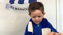 Little boy knows every Kilmarnock player