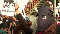Clashes over bullfighting in Peru