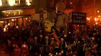 Lewes bonfire: Thousands gather for parade