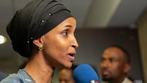 Ilhan Omar: 'People are choosing unity'