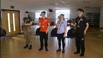 Students get virtual taste of warfare
