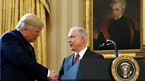 How Trump turned on Sessions