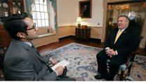 مصاحبه اختصاصی بیبیسی فارسی با مایک پومپئو، وزیر خارجه آمریکا