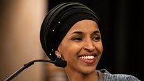 Joy at first hijab-wearing Congresswoman