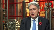 Hammond pressed over Brexit 'backstop' row
