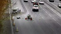 Drink-driver jailed for motorway crash