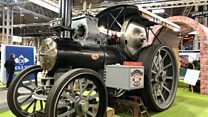 New steam engine built from scratch