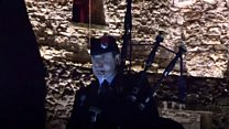 Piper marks start of Armistice Day events