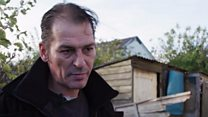 'I've been left to live in a shed'