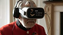 Chelsea Pensioners try WW1 VR