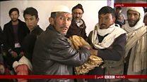 صدها خانواده گریخته از حمله طالبان وارد شهر غزنی شدند