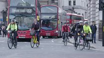 Trying to reduce London's road deaths to zero