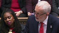 Corbyn asks May about Fox's 40 trade deals
