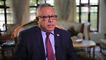 بي بي سي تلتقي عبد العزيز بن حبتور رئيس حكومة الوحدة الوطنية اليمنية