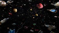'Awful' ocean plastic inspires artist