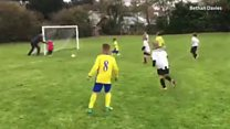 Welsh dad's hilarious football coaching