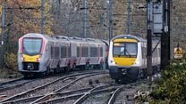 Greater Anglia new Swiss train arrives