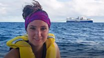 'I faced off with a 21,000-tonne ship'