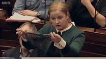 아일랜드 의회 속옷