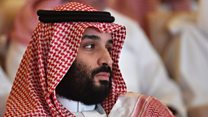What happens to Mohammed bin Salman?