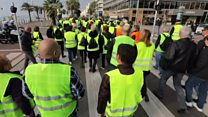Thousands march in France over diesel tax