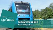 O trem do futuro, que gera água no lugar de gases poluentes